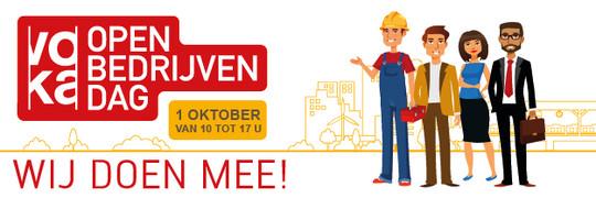 Bezoek ons op Voka Open Bedrijvendag!